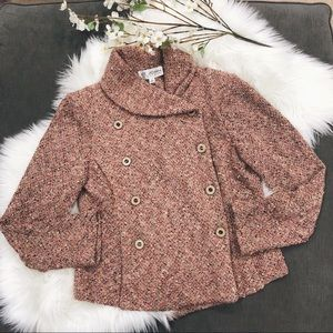 St. John Collection Pink Boucle Tweed Jacket